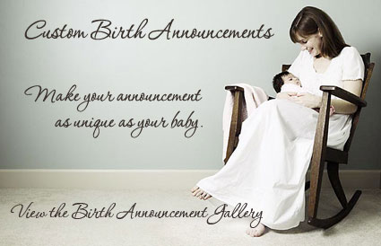 Click to view the birth announcement gallery