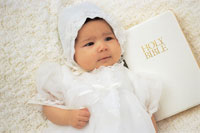 Custom Photo Baptism / Christening Invitations