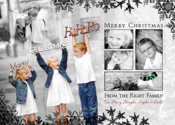 Custom Christmas & Holiday Photo Cards - Creative, Unique, and ...